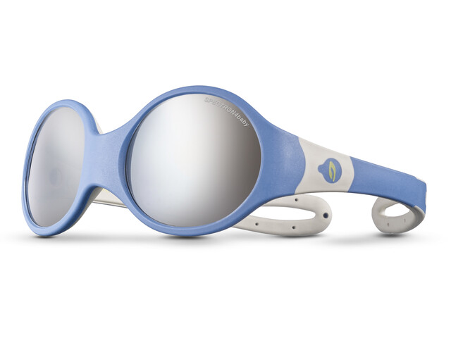 Julbo Loop L Spectron 4 Sunglasses Kids blue/grey/rosa/grey flash silver